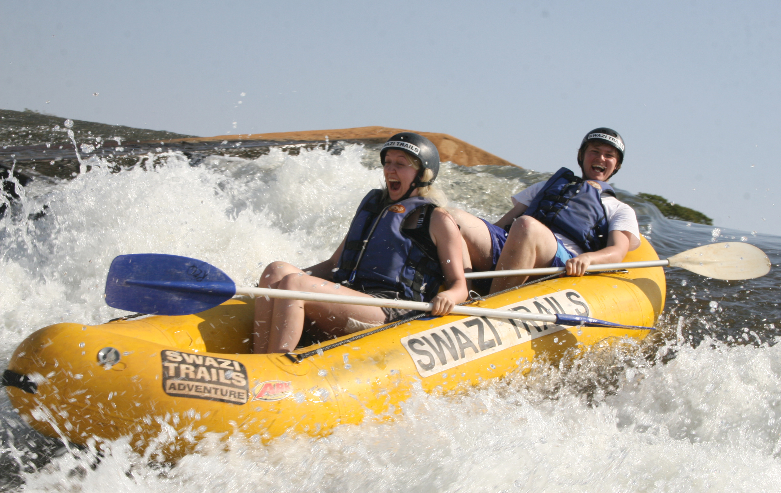 White water rafting on the Great Usuthu River