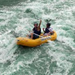 White water rafting in Swaziland