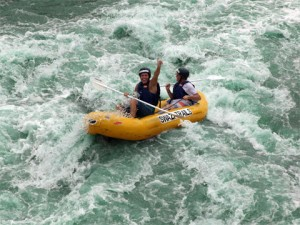 White-water rafting in Swaziland