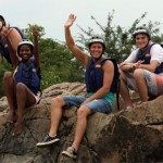 whitewater rafting fun in Swaziland