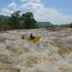 Rafting in Swaziland on the Great Usuthu River