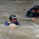 There is a high likelihood of taking a swim whilst whitewater rafting