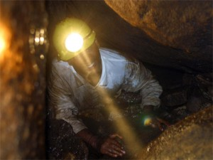 Real adventure, caving, Kingdom of Swaziland, Africa.