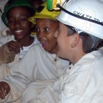 Cgildren can participate in Adventure caving in Swaziland