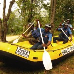 Swazi Trails now offer rafting using 9-man rafts