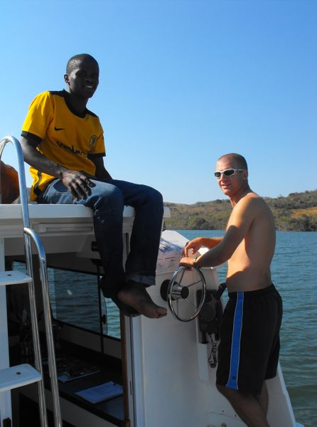Houseboat for rent in Swaziland