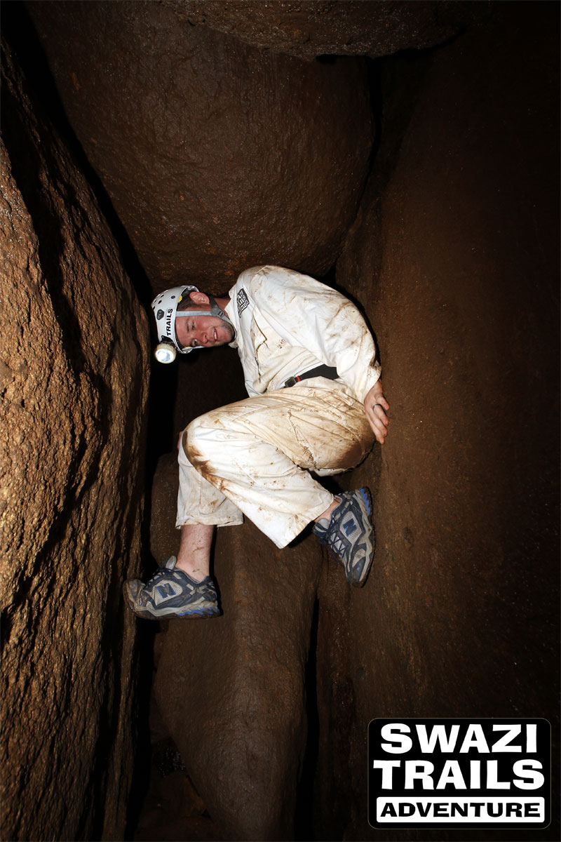 Caving adventure in Swaziland