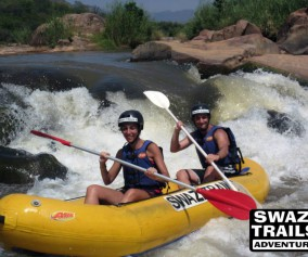 Swaziland Swazi Trails happy travelers