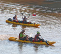 Canoeing in Swaziland during Expedition Africa 2015