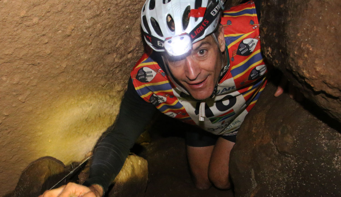 Caving in Swaziland during Expedition Africa 2015