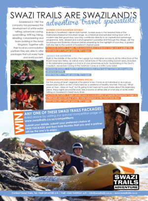Competition - win a Swazi Trails adventure