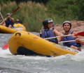 Rafting the Komati River with Swazi Trails