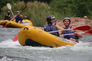 Rafting in Swaziland on the Komati River with Swazi Trails